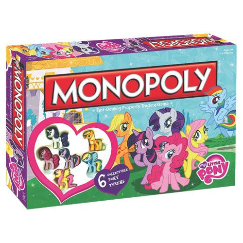 USAopoly My Little Pony Monopoly Board Game   - Online Only