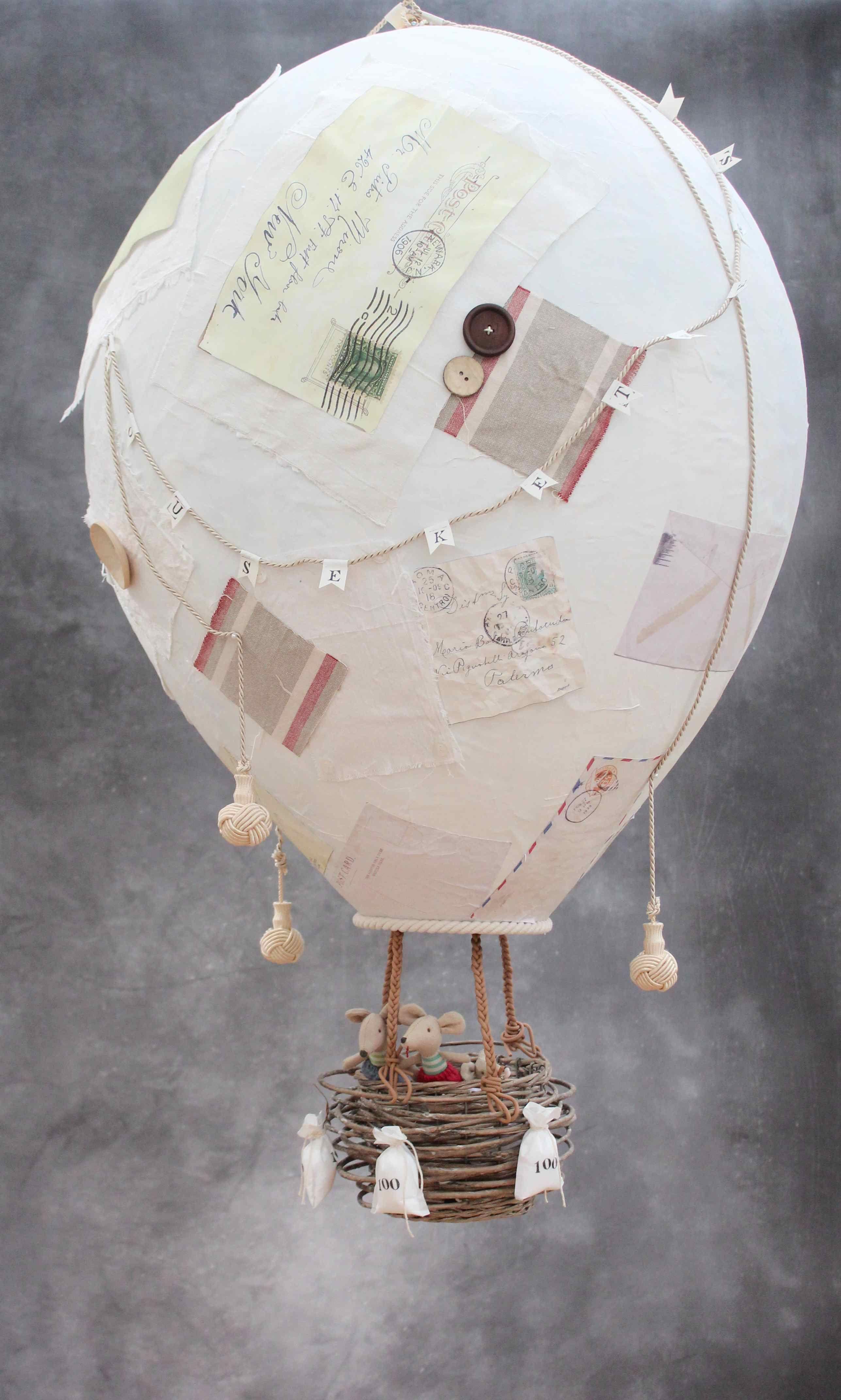montgolfiere papier mache