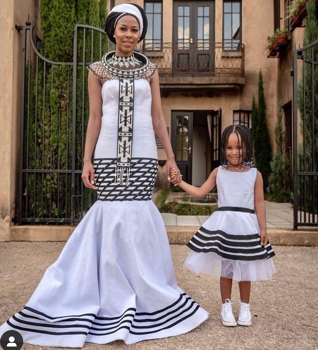 Traditional Africa Patterns Xhosa wedding Dresses 20   Wedding ...