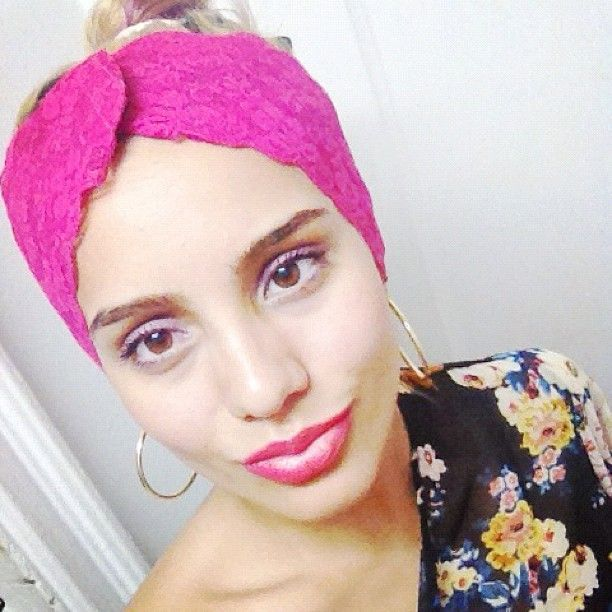 Lovely Blogger Nubia from NubiasNonsense.com rocks our Lucy #headband. #hair #fashion #style
