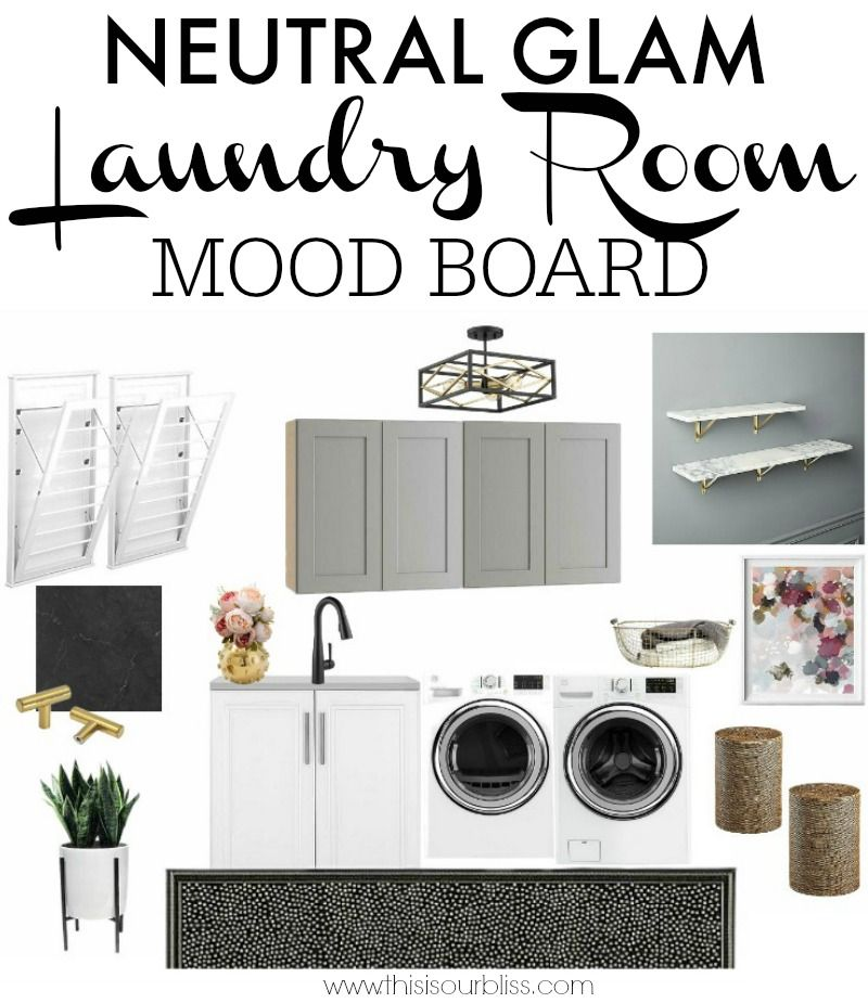 Laundry Room Before Mood Board Room Planning Room Laundry