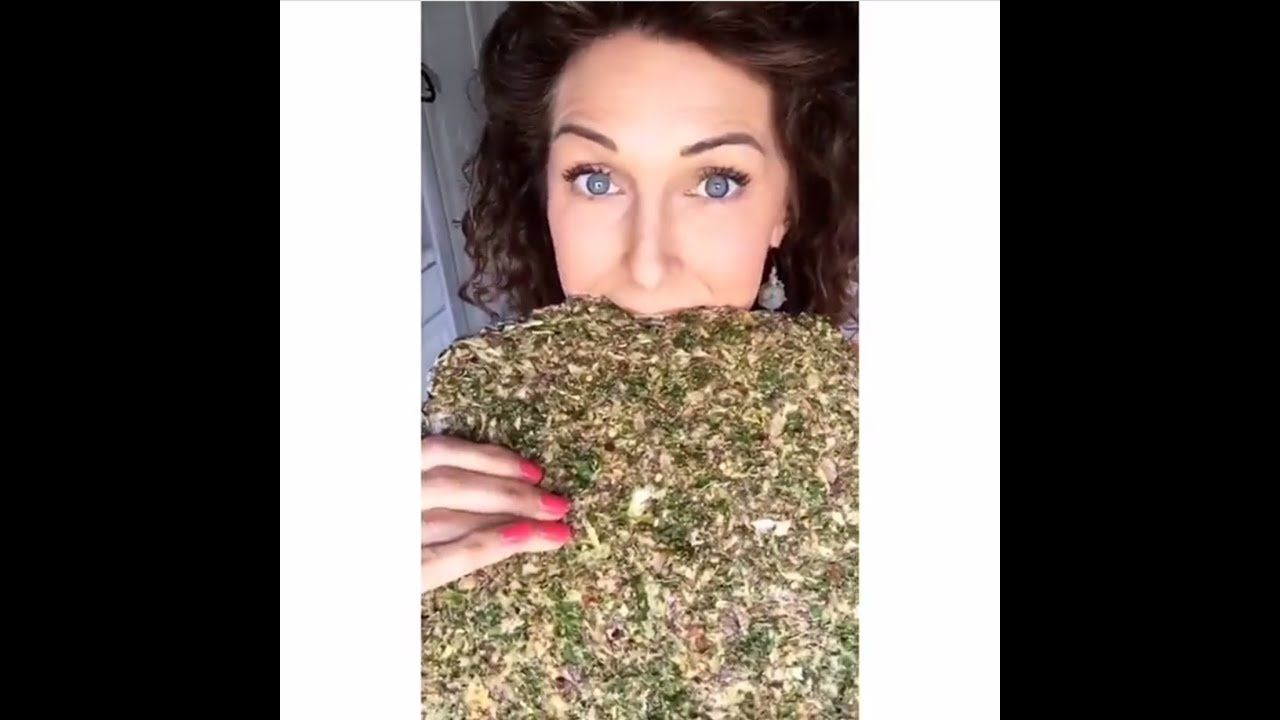 Photo of GREENS Y'ALL !!! Kale Cracker recipe Pt2