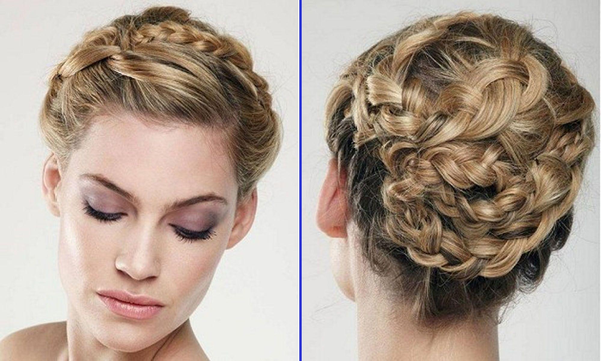 Amazing Wedding Braid Hairstyle Wedding Planning Hair Pinterest Short Hairstyles Gunalazisus