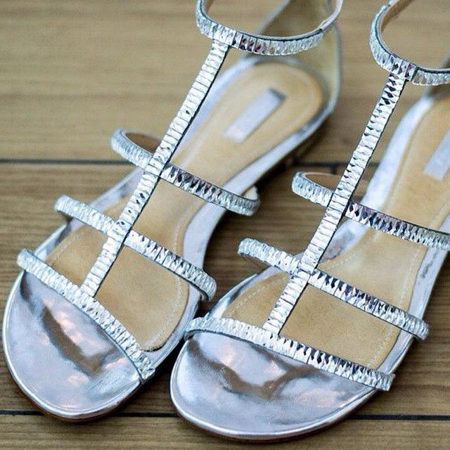 We Love FLATS! ❤️✨✌️ #silver #summercolection #summertime