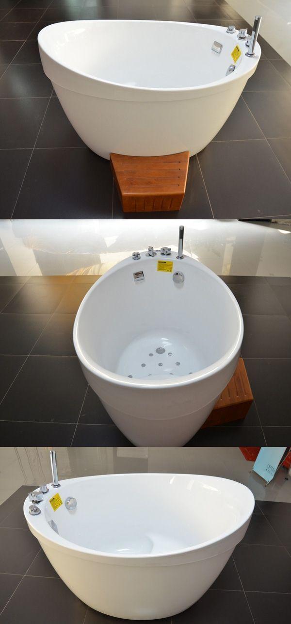 Hs B1801t Freestand Small Bathroom Bathtub Very Small