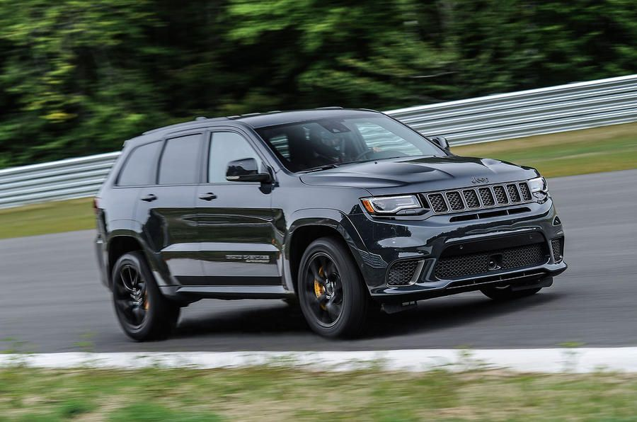Jeep Grand Cherokee Trackhawk Cornering Jeep Grand Cherokee