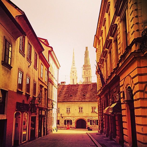 Zagreb Grad Zagreb Zagreb Travel Through Europe Zagreb Croatia