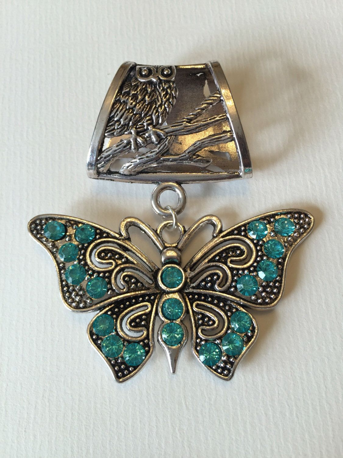 Butterfly scarf bail silver bail scarf pendant scarf ring scarf butterfly scarf bail silver bail scarf pendant scarf ring scarf slider mozeypictures Choice Image