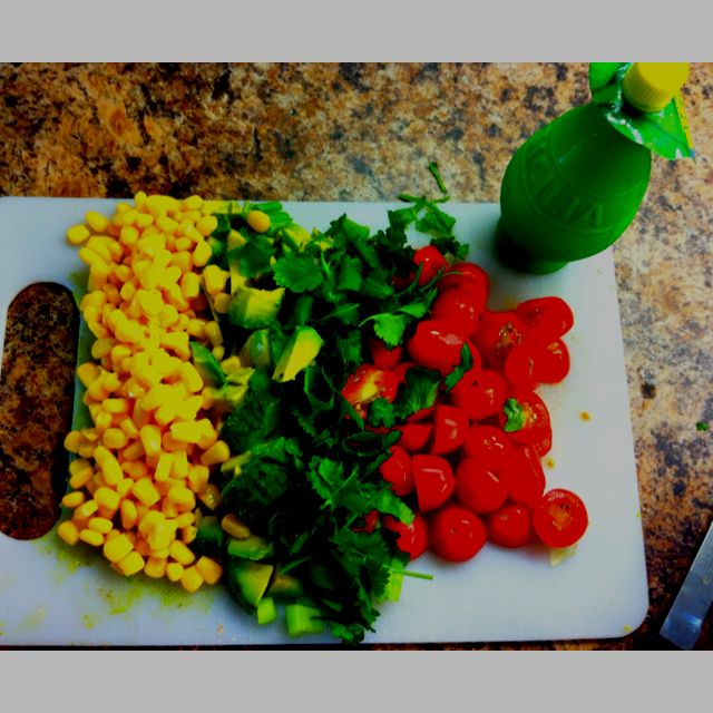 Fresh salad idea