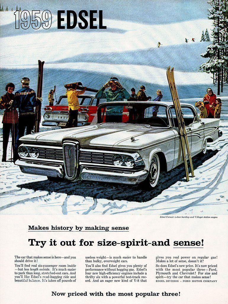 1959 Ford Edsel Ad