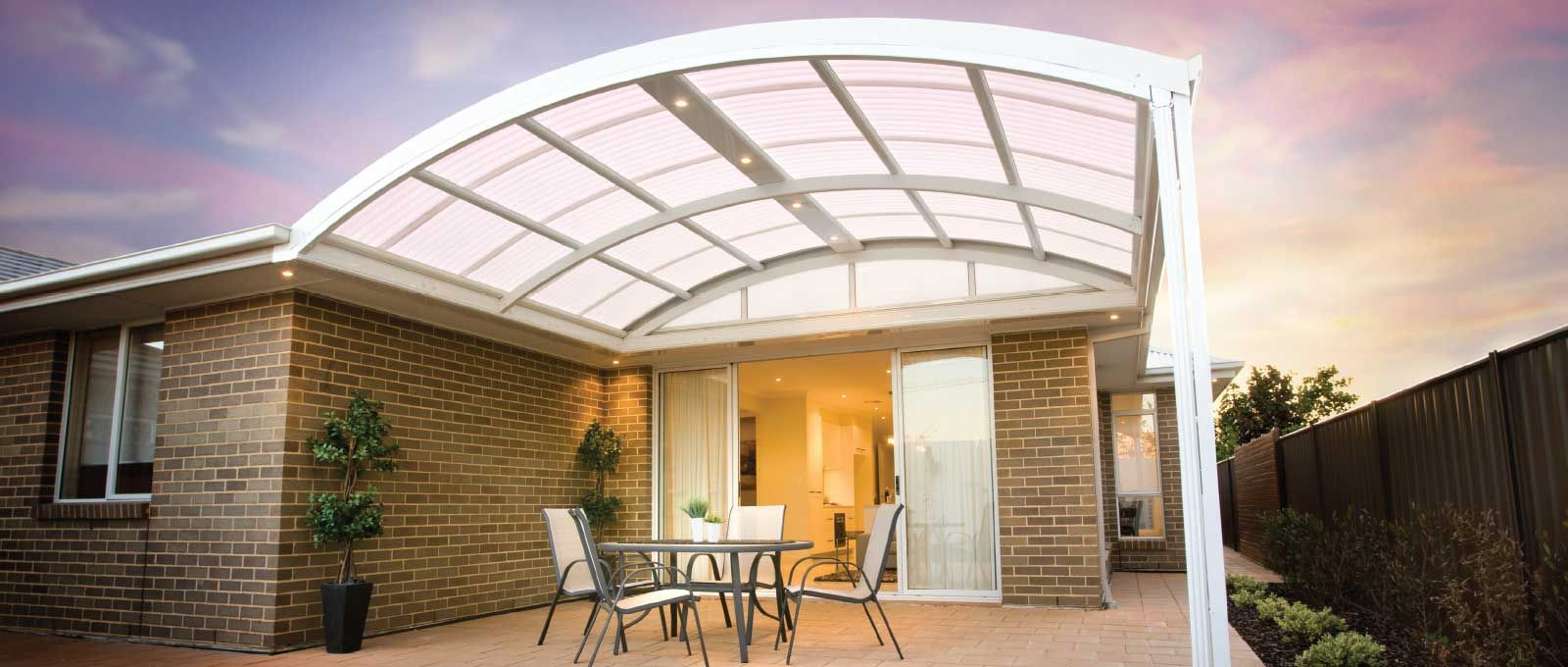 Multispan Outback Curved Patio Carport Or Verandah New Patio