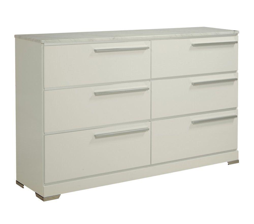 Ashley Furniture Signature Design Brillaney Dresser White