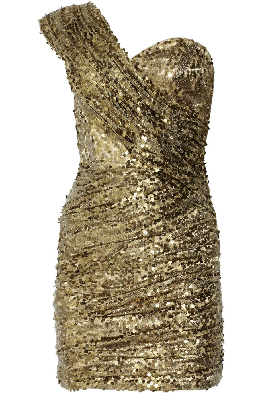 Sequined oneshoulder dress by opulence england oh you fancy hun