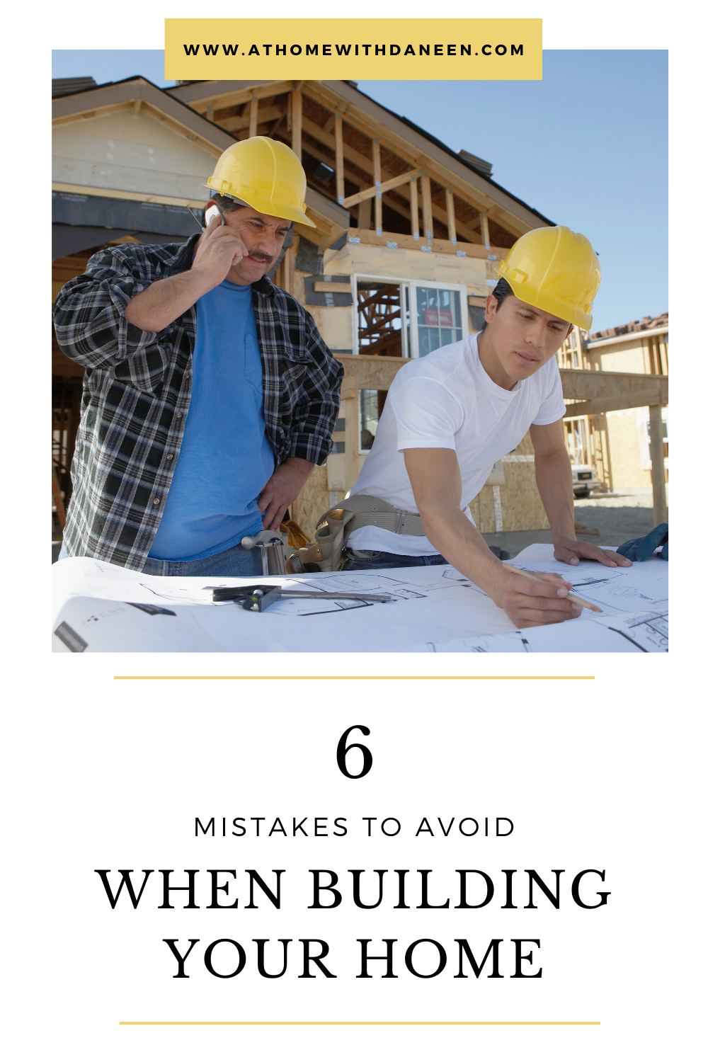 There's lots of planning involved when it comes to building your dream home, and no matter how diligent you are, there are bound to be missteps along the way.  This blog post outlines six mistakes you should avoid when building your home. 🔨🏘🔧 #homebuilding #realestate #construction #newhome #customhomes #newbuild #homesweethome #homebuilder #dreamhome #homedesign #housegoals #homeinspo #housebuilding #homebuild #newhomeconstruction #homebuilders