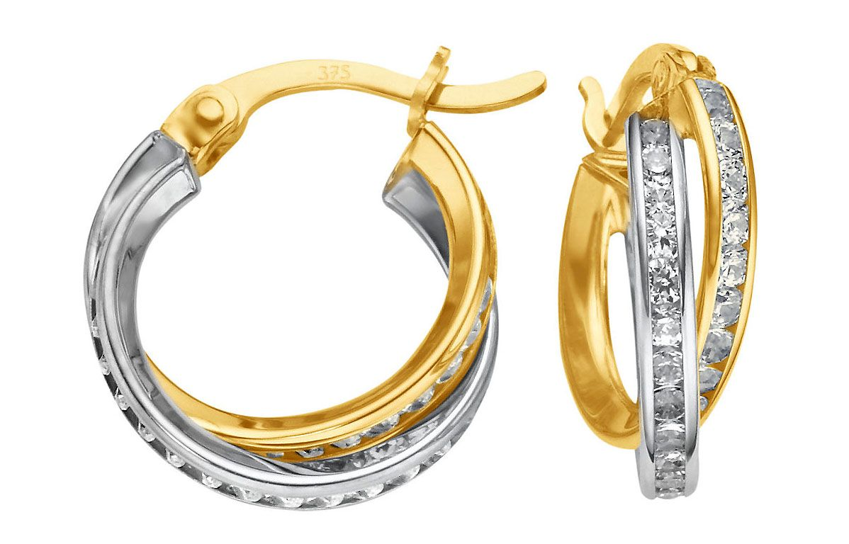 14 Nice Designs Of Gold Earrings For Women   Gold, Woman and Nice