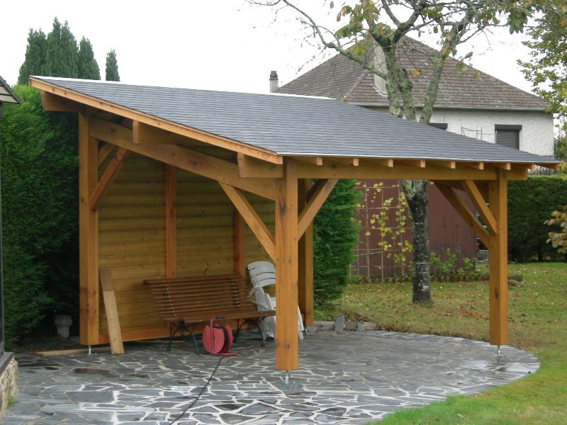 pergola | Pergola couverte | pergolas | Pinterest | Covered pergola ...