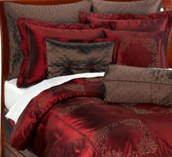 Red Is A Color That Known To E Up The Bedroom Add Smooth Texture Of Silk And Velvet Mystery Your Brown Enjoy