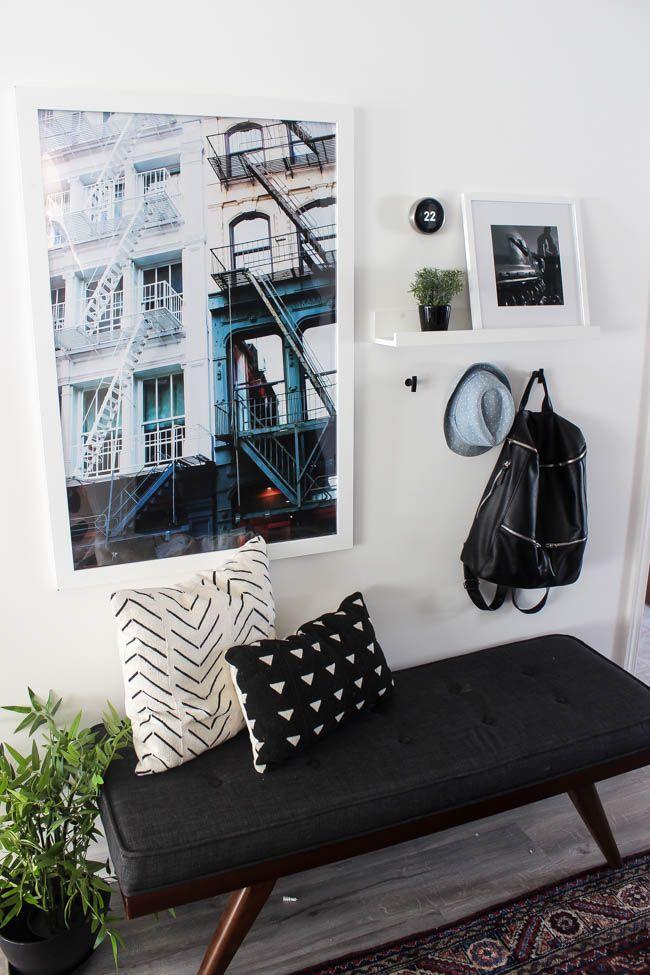 Beautiful New Hallway Decor | Hallway runner, Modern artwork and ...