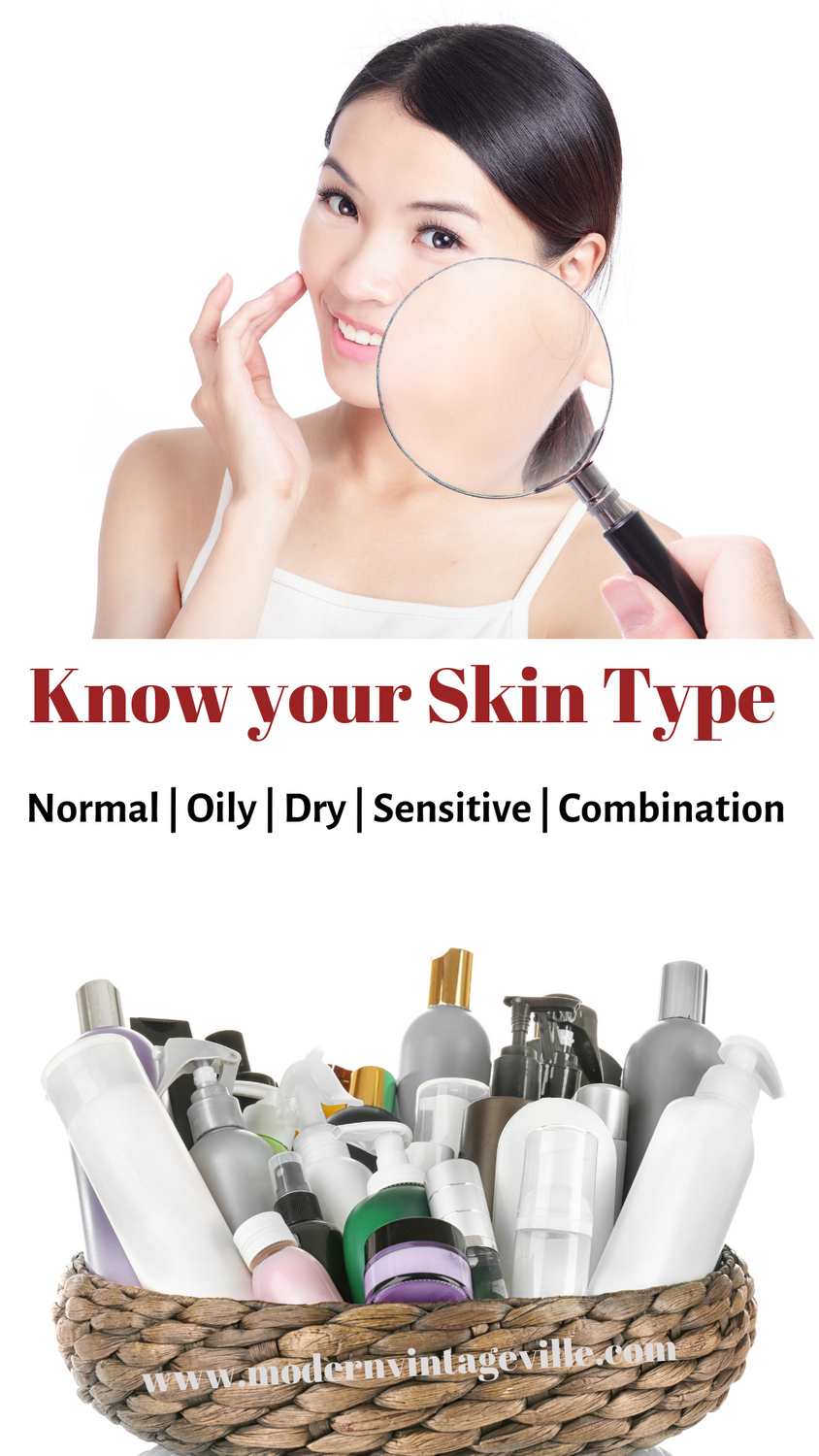 Why knowing your skin type is the very first step in skin
