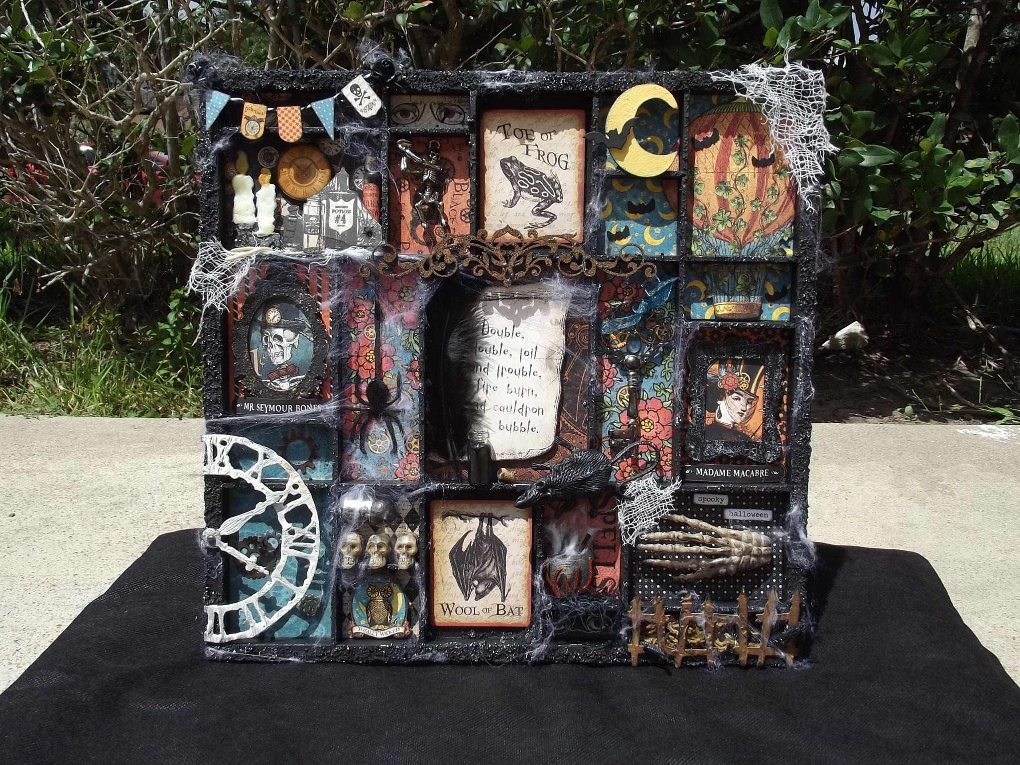 Steampunk Spells Halloween Printers Tray - Scrapbook.com   DIY ...