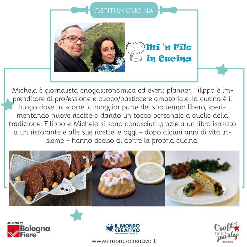 Ecco a voi tutti gli ospiti che saranno protagonisti del Teatro Food a #ilmondocreativo #craftyourparty :-)