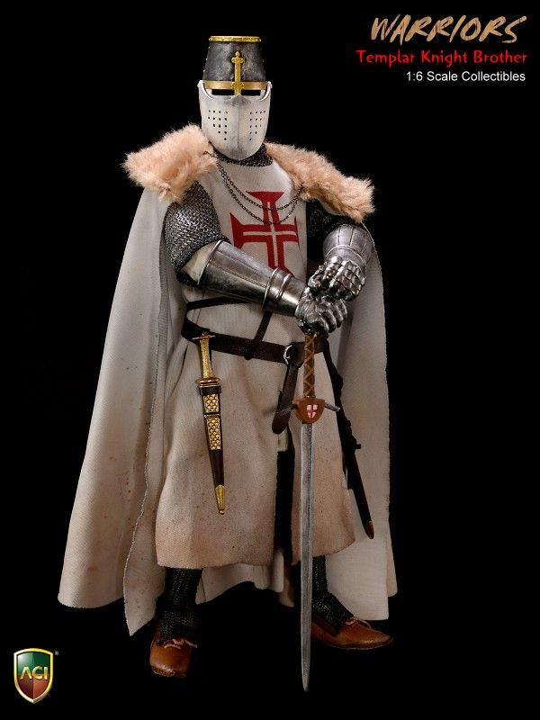 4b392d3f315 Product Announcement New Product    ACI Toys   1 6 Crusader Knight Templars  All 4 Styles Coming Soon