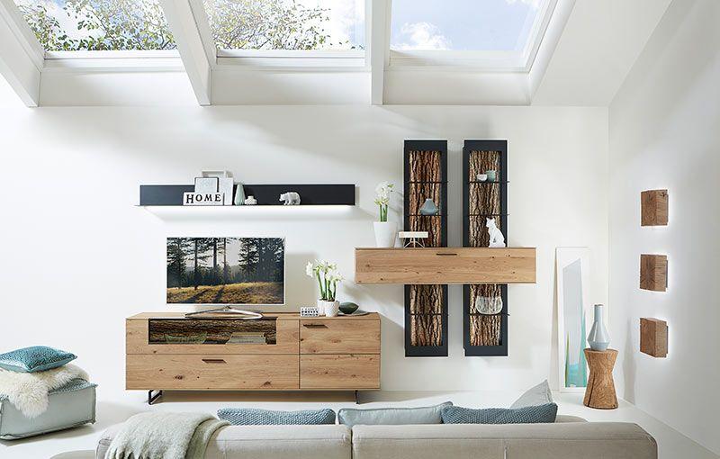 musterring vitrine finest cool amazing highboard kernbuche massiv naturgelt design glasholz. Black Bedroom Furniture Sets. Home Design Ideas