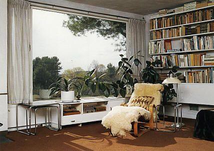 Interior of Walter Gropius' own home that he designed at 68 Baker Bridge  Road in