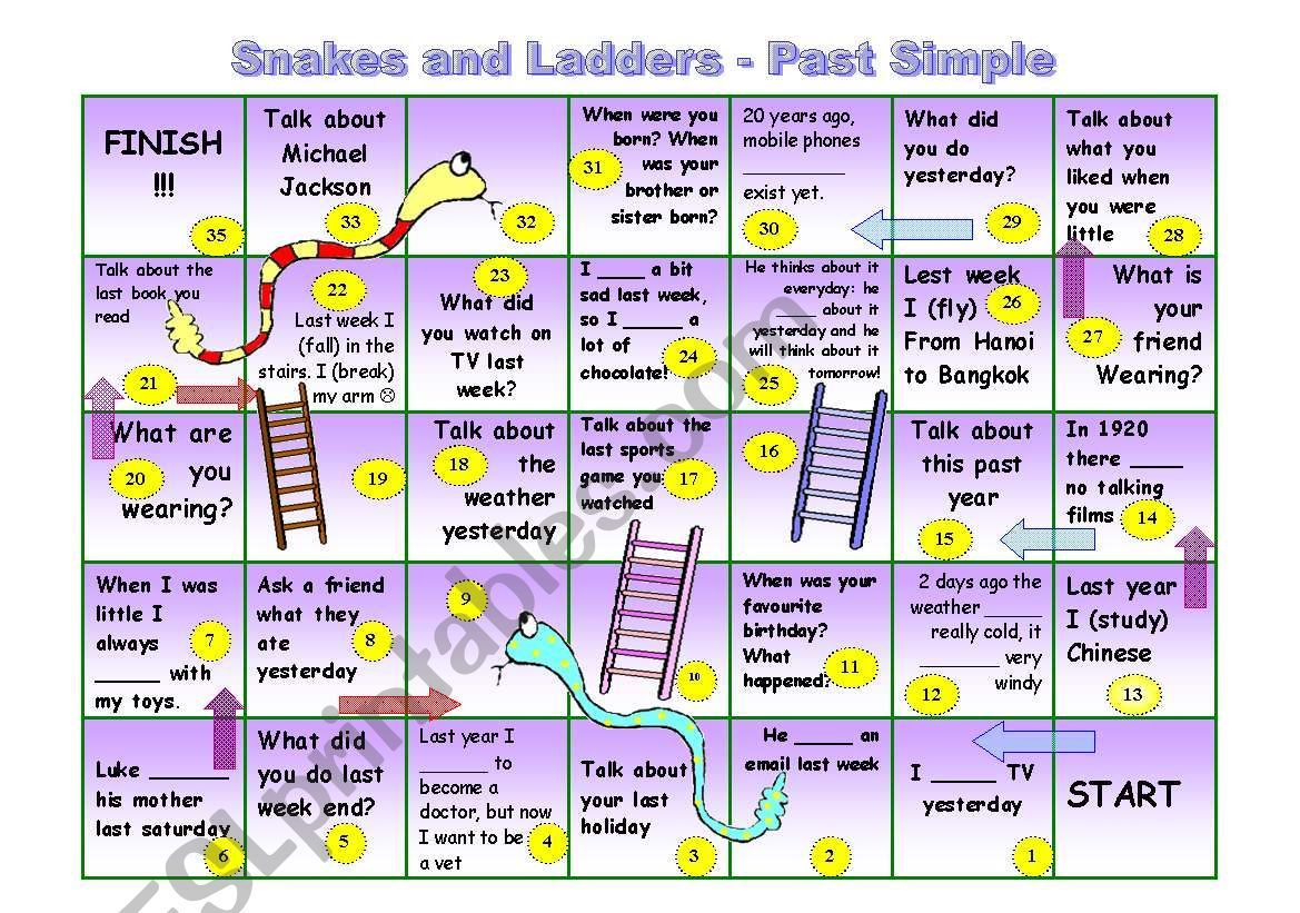 Juego De Serpientes Y Escaleras