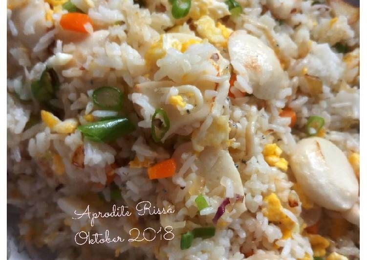 Resep Nasi Goreng Teri Medan Oleh Mama Icha Resep Makanan Sehat Masakan Asia Resep Makanan