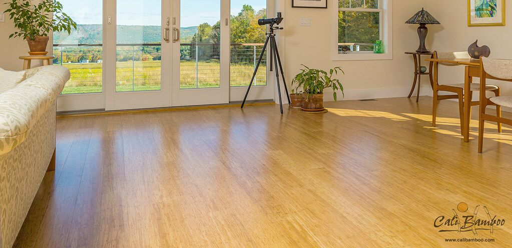 Bamboo Wide Plank Hardwood Flooring
