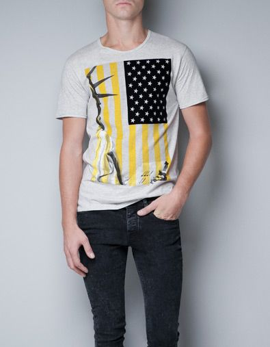 59e87dea041754 NEW YORK T-SHIRT - T-shirts - Man - ZARA Italy