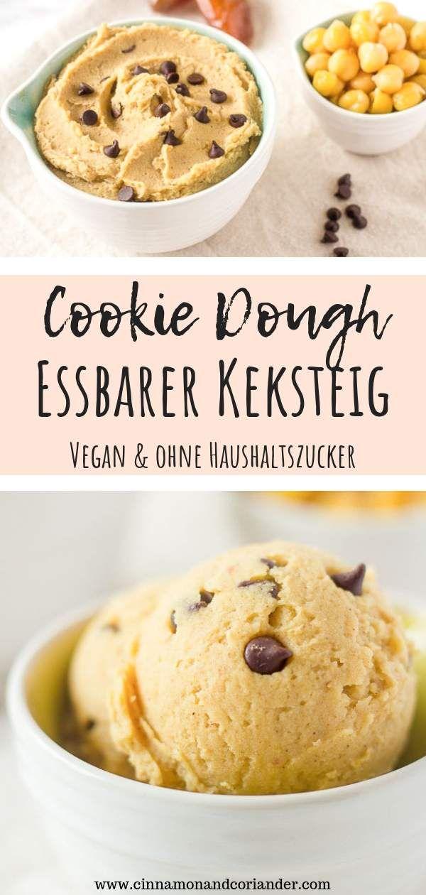 Veganer Essbarer Keksteig (Cookie Dough) | Cinnamon & Coriander #cinnamonsugarcookies