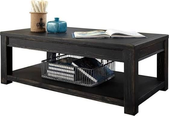 Black Two Level Coffee Table Furniture Coffee End Tables Table
