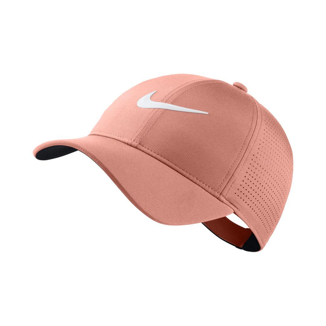 Nike AeroBill Legacy 91 Adjustable Golf Hat Size ONE SIZE (Light Atomic  Pink) 6fb0db8f8656