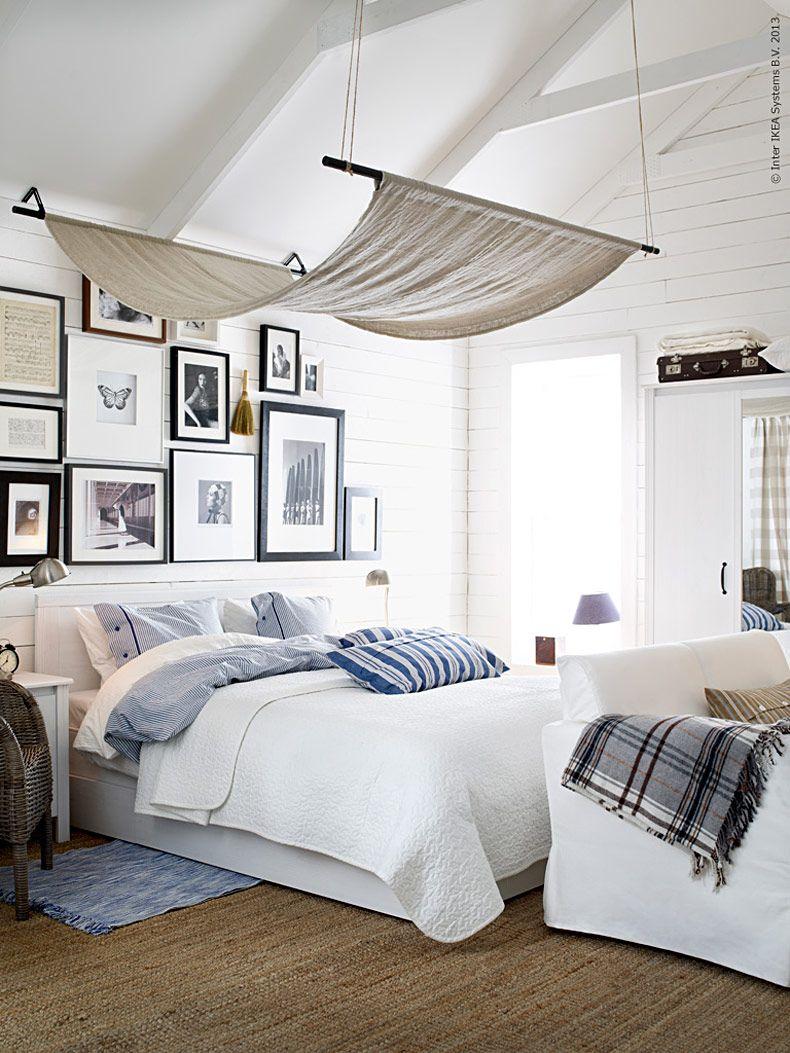 DIY – egen himmel   Livet Hemma – IKEA   IKEA-Bedroom   Pinterest ...