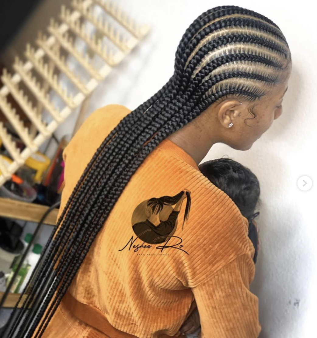 5 Easy Protective Styles For The Fall Voice Of Hair African Hair Braiding Styles Braided Cornrow Hairstyles Cornrows Braids For Black Women