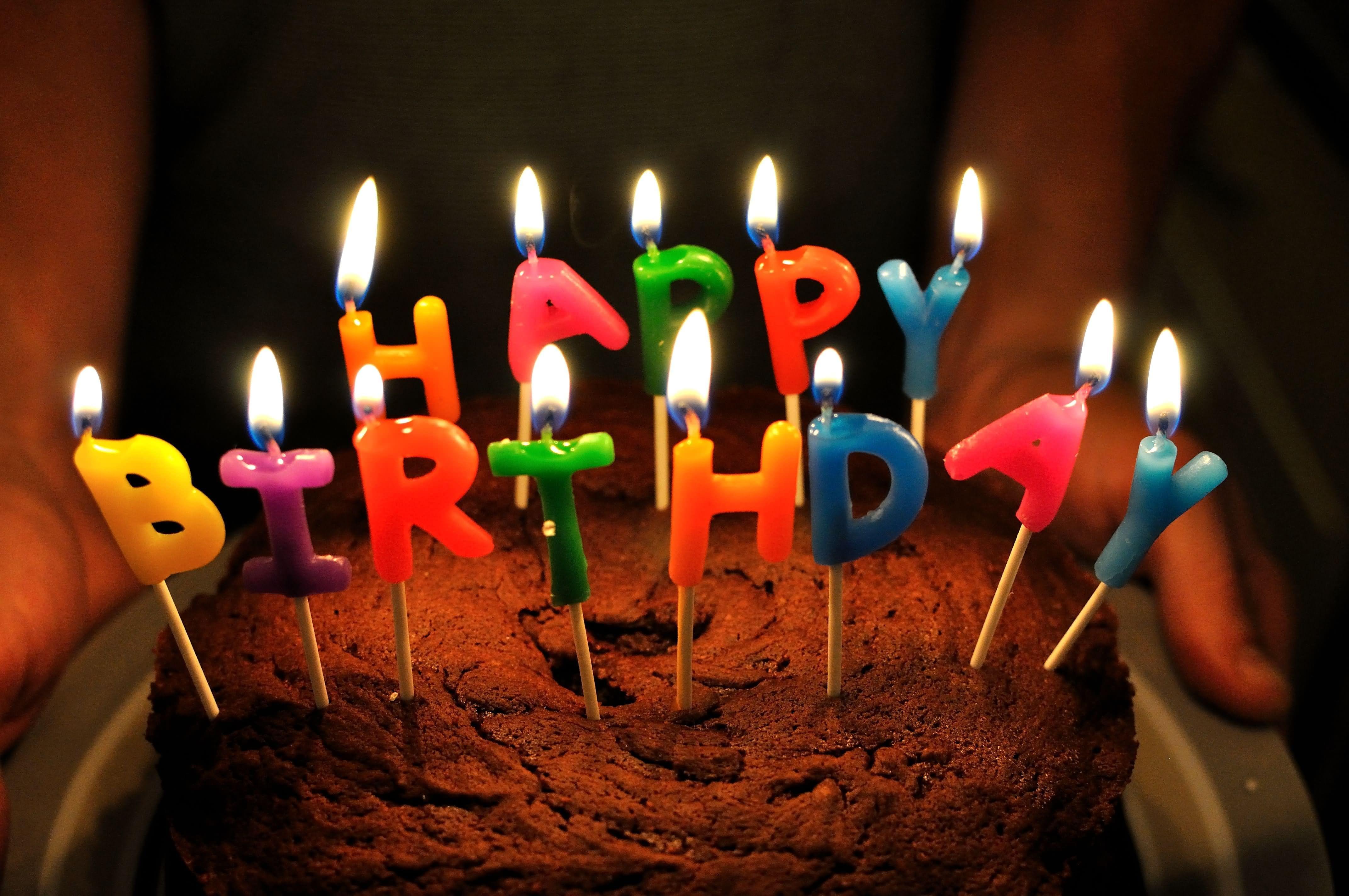 happy birthday cake Delish Pinterest Happy birthday Happy