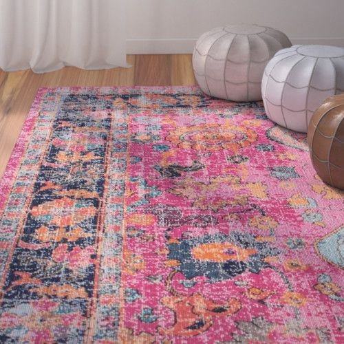 Found it at Wayfair - Ayush Pink Area Rug | Home | Pinterest ...