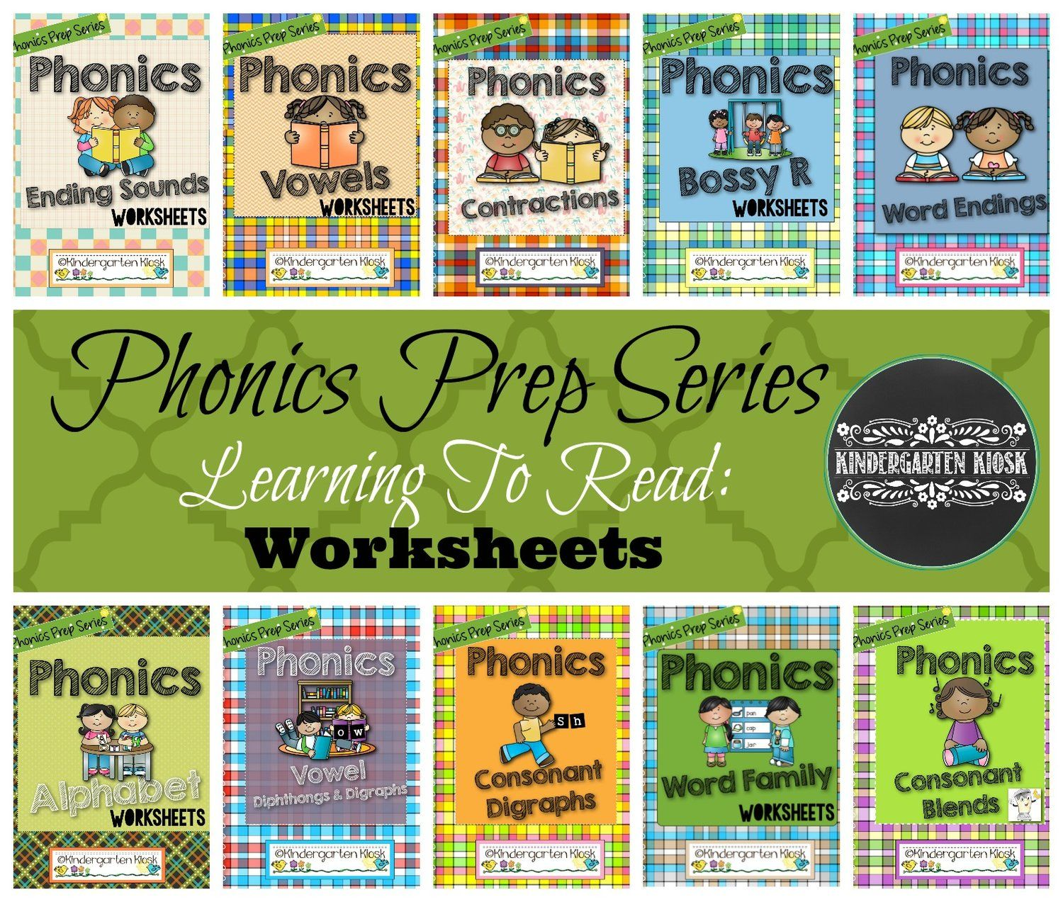 Phonics Easy Peasy Worksheets