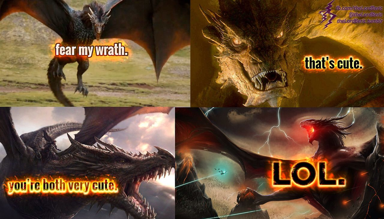 Lord Of The Rings Smaug Death
