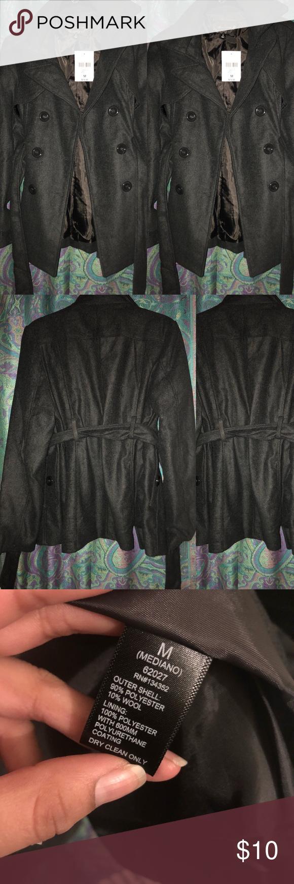 Dark Grey jacket Never worn brand new                       size:medium color: dark grey Forever 21 Jackets & Coats