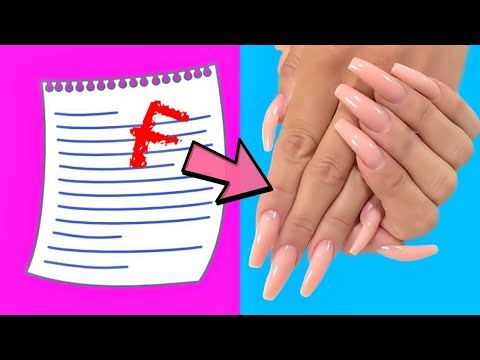 How To Make Fake Nails From Paper At Home Strong Method 5 Minute Crafts Youtube In 2020 Fake Nails Fake Nails Diy 5 Minute Crafts