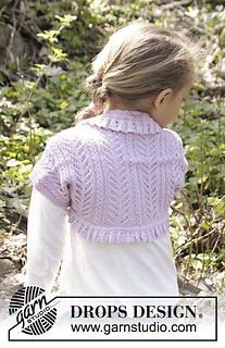 Drops Shrug In Paris For Women And Girls Free Pattern By Drops