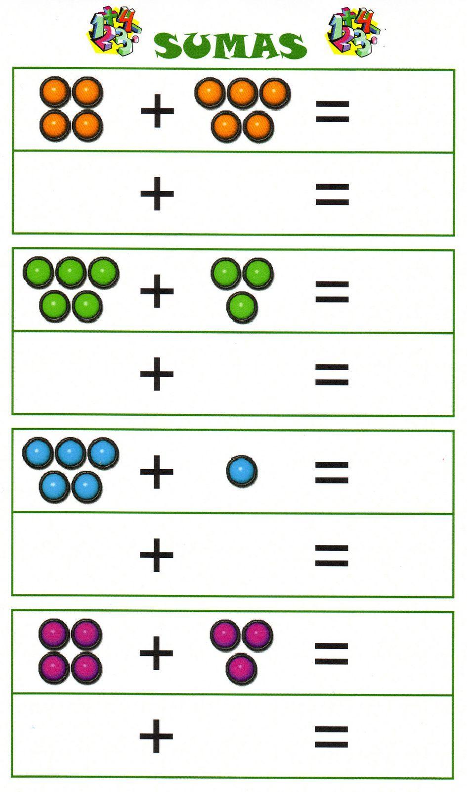 Pin de Eva en sumas y restas | 수학 y 1학년