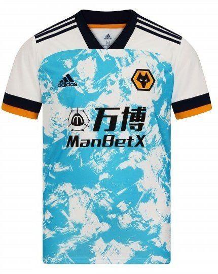 Wolverhampton Wanderers 2020-21 adidas Home, Away Football Kits ...