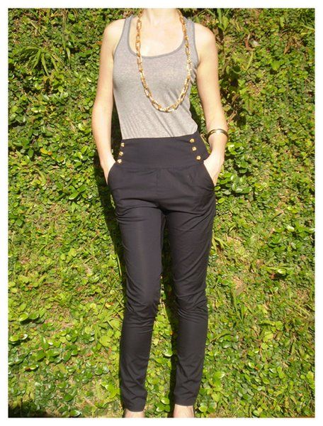 d3f09dfcd5 Roupas de cintura alta | moda | Calças sociais, Modelos de calças e ...