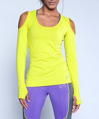 Loving this Limeade TLF Infinity Abstract Long-Sleeve Top on #zulily! #zulilyfinds