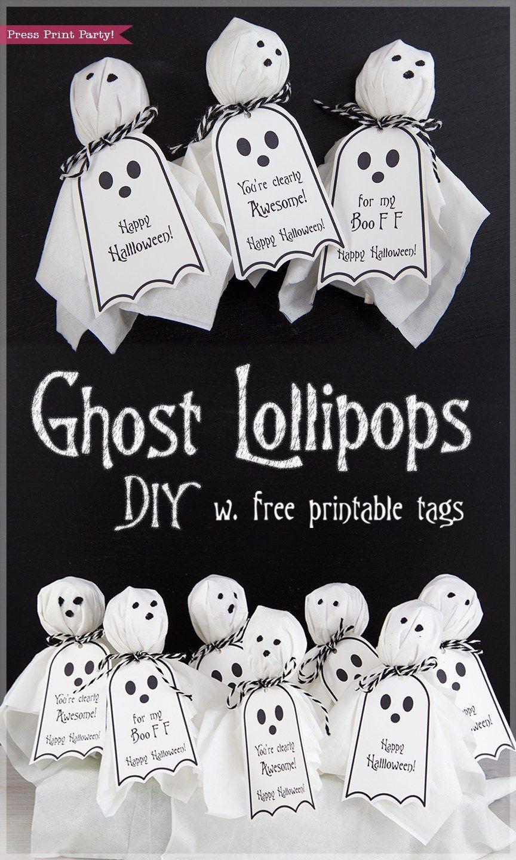FREE Halloween Printable Tags By Press Print