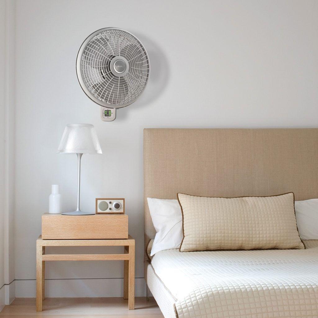 Oscillating Wallmount Fan With Remote Wall Mounted Fan Wall
